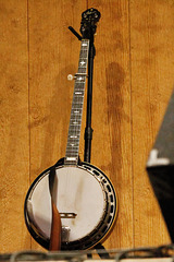 Keith's Banjo at Rest