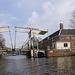 In den Grachten Hebe Brücke  von Amsterdam
