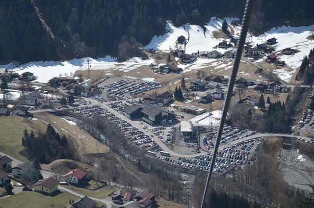St.Gallenkirch, Parking at Silvretta Ski Center