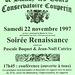 Bal Renaissance à Blandy-les-Tours le 22/11/1997