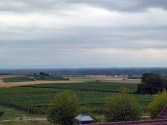 Wolken über der Südlichen Weinstarsse