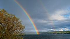 May 10, 7:10 PM at Lac La Hache, BC