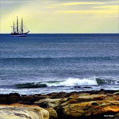 """""""Voltando ao porto"""" - Cascais - Lisboa"""