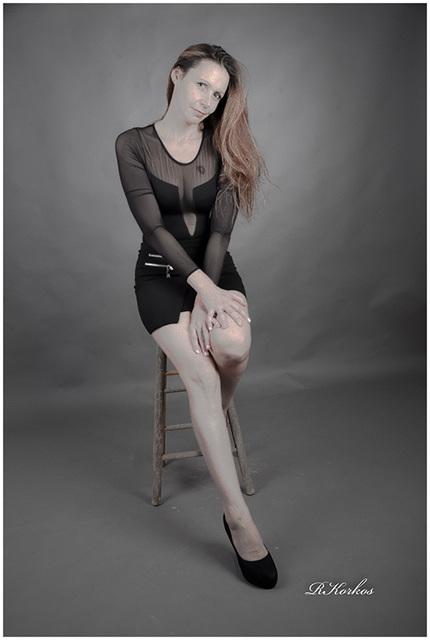 Mon modèle  Gaelle. (3)