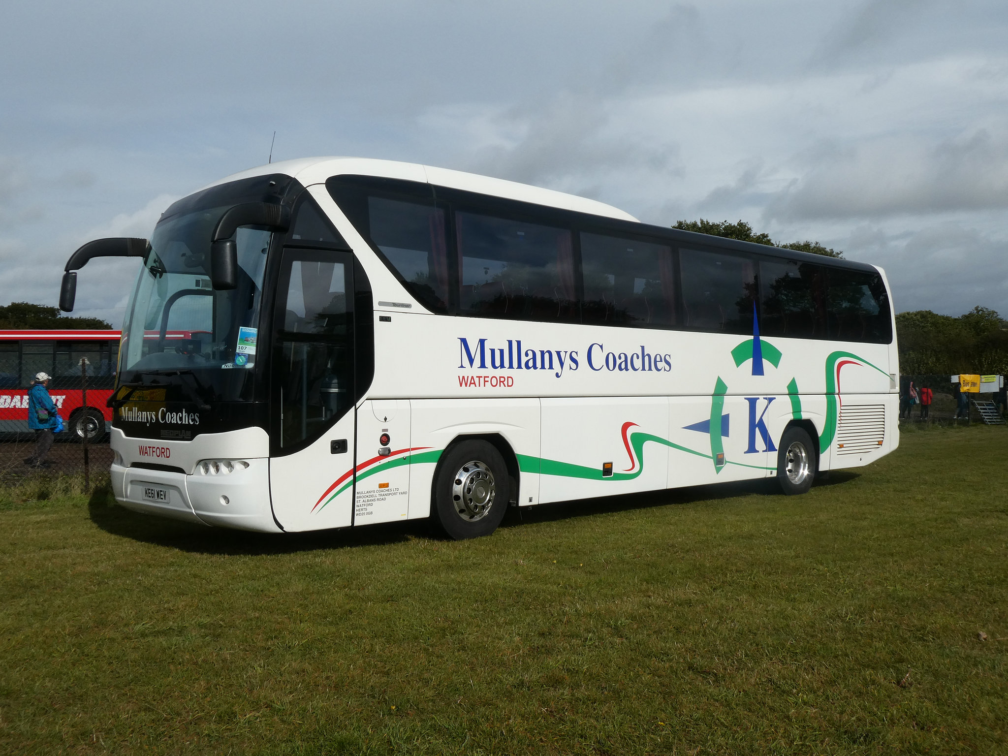 Mullanys Coaches KE61 WEV at Showbus - 29 Sep 2019 (P1040608)