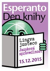 Tago de Esperanto-Libro 15.12.2015 - afiŝo ĉeĥlingva