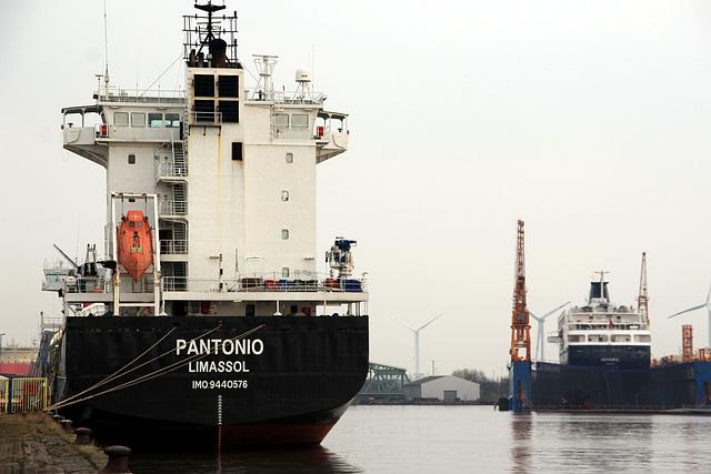 Hafenimpression Bremerhaven