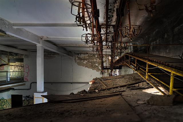 Abandoned Trieste - transport of strange things