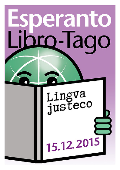 Afiŝo por Tago de Esperanto-Libro - 15.12.2015