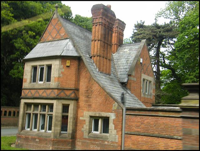 Cheshire house chimney