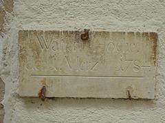 Wasser Höche 1784