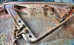 Abandoned Trawl Door. N.Shields Fishquay