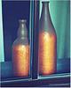 two bottles full of sun