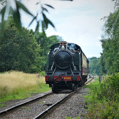 GWR prairie tank loco #4144