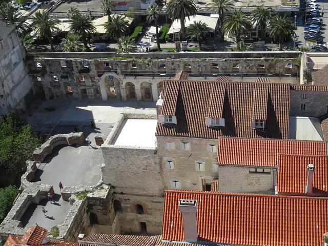 En haut de la cathédrale : le sud.