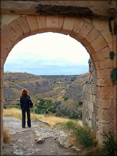 Oh, the thoughts we think! Sepulveda, Segovia province