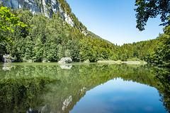 Lake 'Berglsteinersee' in Tyrol