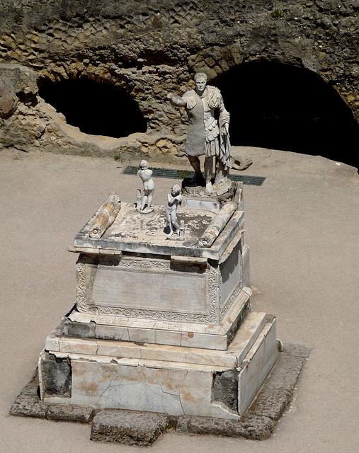 Herculaneum- Funerary Altar