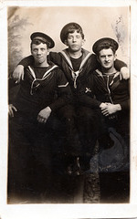 HMS Victory Interwar Period Group of Sailors