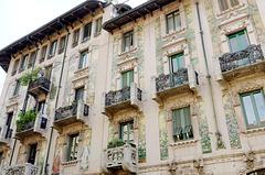 Art nouveau italien (Liberty) - Casa Galimberti