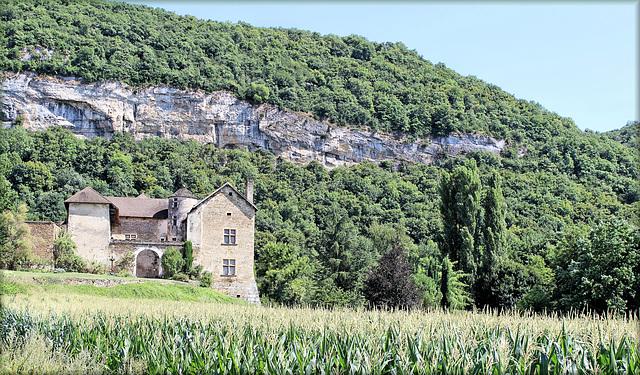 Verna (38) 9 août 2013. Château du Cingle.