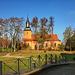 Ribbeck, Blick zur Kirche  ...  HFF !