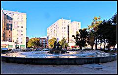 Valencia: fuente en Av. Blasco Ibáñez, 1