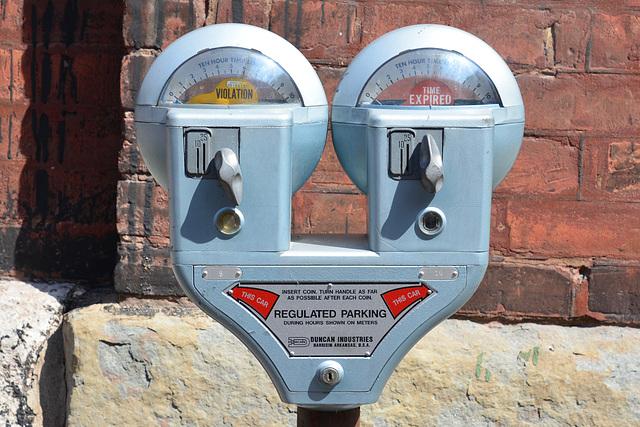 Canada 2016 – Toronto – Parking meter