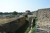 Крепость Аккерман, Восточная стена со рвом