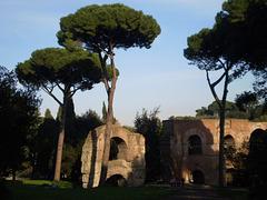 Ruins of aquaduct.