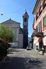 Kirchturm der Chiesa S. Antonio Abate in Locarno