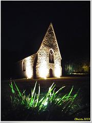 Little chapel in the grassland