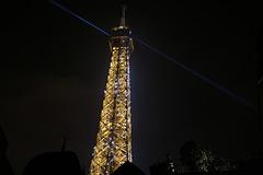 Image rare , la photo de la Tour Eiffel