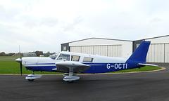 G-OCTI at Solent Airport - 8 November 2018