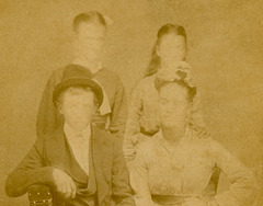 Faceless Family CDV (Cropped)