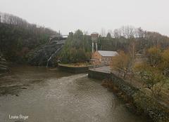 Parc des chutes à Rivière du Loup