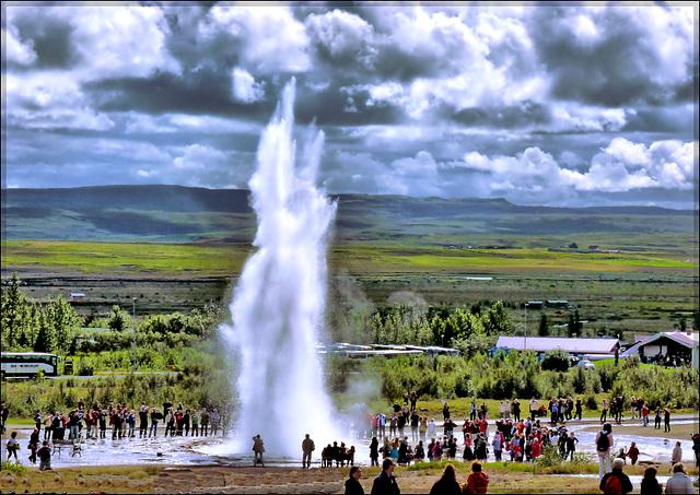 Geysir Hot Springs in Iceland - (547)