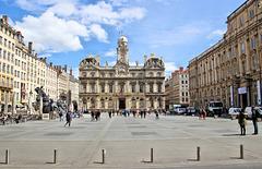 Lyon (69) 13 avril 2018. Place des Terreaux.