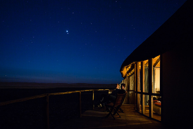 Sossus Dune Lodge at Night #2