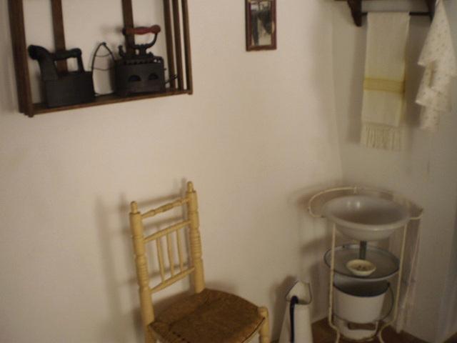Old bedroom corner.