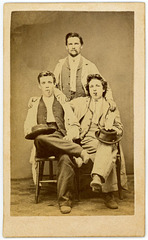 Three Jaunty Fellows, Berwick, Pennsylvania