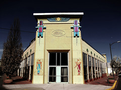"""Former Ford dealership, the """"Egyptian Building"""""""