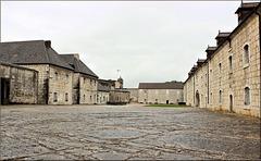 Besançon (25) 14 juin 2016. Cour intérieure de la Citadelle de Vauban.