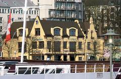 Das Fischerhaus, ein Restaurant mit Hafenblick