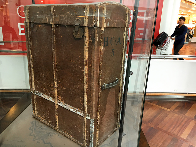 Hans Christian Andersen's travel trunk