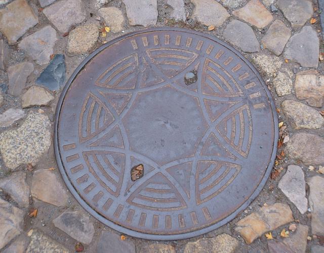 Quedlinburg, Kanaldeckel 2
