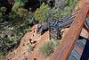 "Kings Canyon, NT, Australia  -  Steps down to the ""Garden of Eden"" Billabong"