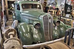 1936 Plymouth Sedan – New State Motor Company Building, Main Street, Jerome, Arizona
