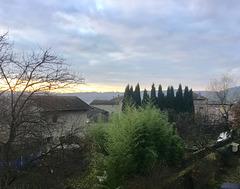 Petit matin à Saint Uze