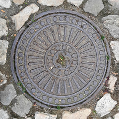 Quedlinburg, Kanaldeckel 4